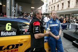 #39 Supercheap Auto Racing: Russell Ingall, #6 Ford Performance Racing: Steve Richards