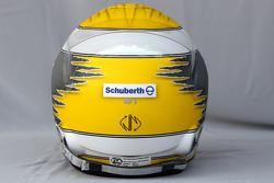 Helmet of Nico Rosberg, Mercedes GP