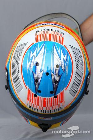 Шлем Фернандо Алонсо, Scuderia Ferrari