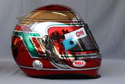 Helmet of Jarno Trulli, Lotus F1 Team