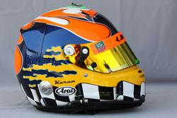 Helmet of Karun Chandhok, HRT F1 Team