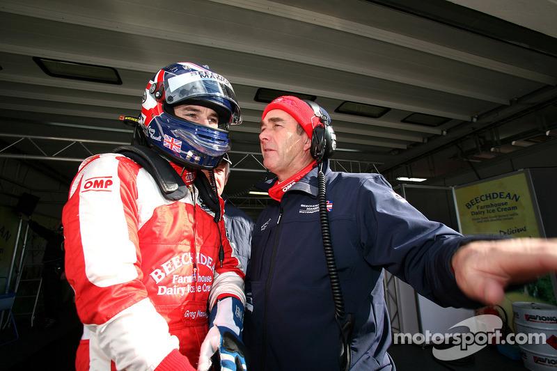 Nigel Mansell et Greg Mansell