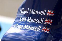 #5 Beechdean Mansell Ginetta-Zytek 09S detail van de auto