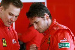 Toni Vilander en Giancarlo Fisichella