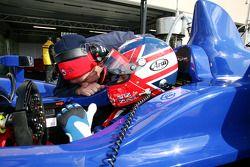 Nigel Mansell en Leo Mansell
