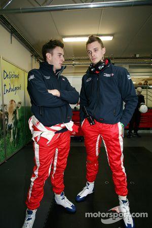 Greg Mansell en Leo Mansell