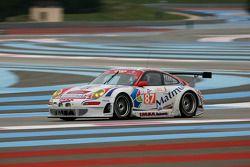 #87 IMSA Performance Matmut Porsche 997 GT3 RSR: Richard Baletras, Pascal Gibon, Christophe Bourret