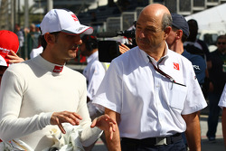 Pedro de la Rosa, BMW Sauber F1 Team with Peter Sauber