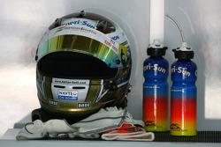 Helmet of Adrian Sutil, Force India F1 Team