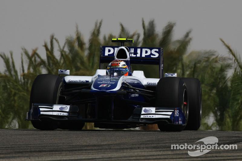 Hulkenberg's first F1 grand prix weekend at Bahrain