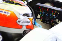 Nico Hulkenberg, Williams F1 Team steering wheel