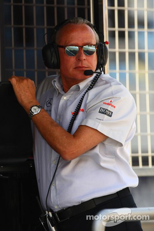 Mansour Ojeh, Commercieel directeur van de TAG McLaren