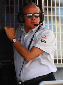 Mansour Ojeh, Directeur Commercial de la TAG McLaren