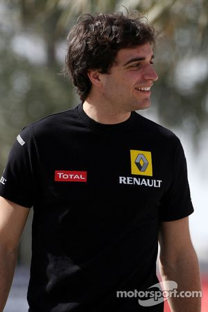 Jerome D'Ambrosio, piloto de pruebas, Equipo Renault F1