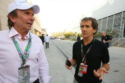 Emerson Fittipaldi, 1972 y 1974 F1 campeón del mundo y Alain Prost campeón del mundo de F1 1985, 19