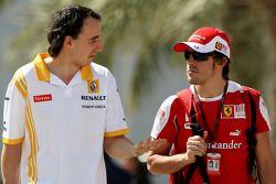Роберт Кубица, Renault F1 Team, Фернандо Алонсо, Scuderia Ferrari