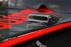 McLaren Mercedes, air intake, detail