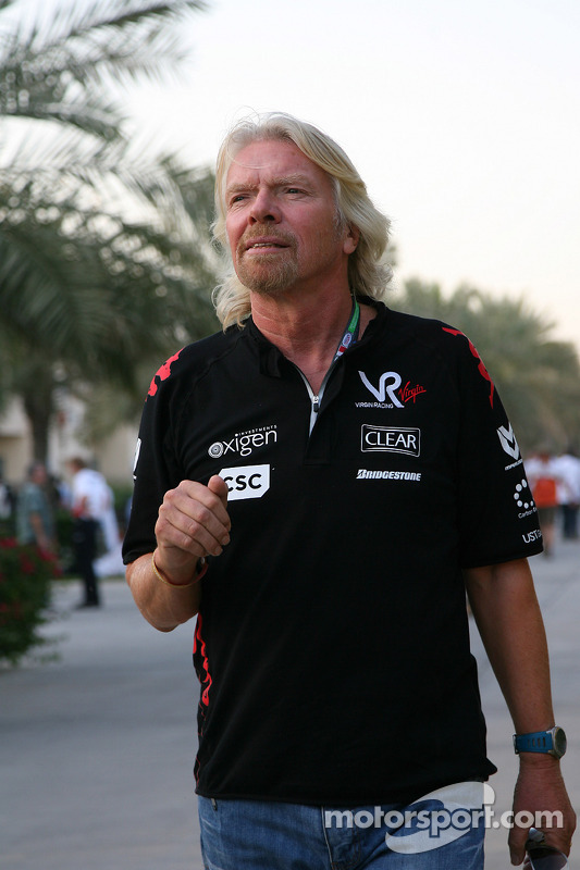 Sir Richard Branson, voorzitter Virgin Group