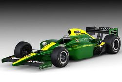 Rendu de l'IndyCar KV Racing Technology Lotus-Cosworth
