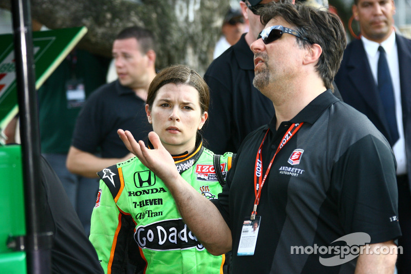 Danica Patrick, Andretti Autosport en Michael Andretti