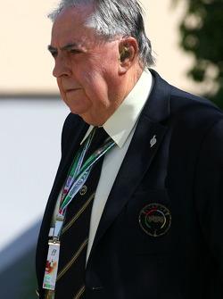 60 º aniversario del Campeonato del mundo de F1, Sir Jack Brabham, campeón del mundo F1 1959, 1969 y
