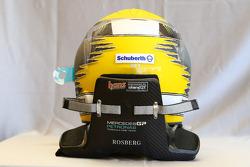 Casco de Nico Rosberg, Mercedes GP