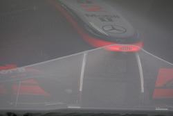 McLaren en Parc ferme