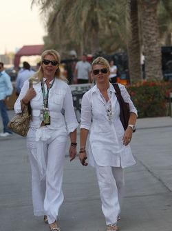 Corina Schumacher, Corinna, esposa de Michael Schumacher