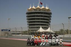 Foto de grupo de pilotos 2010