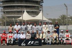 Foto de todos los campeones del mundo F1