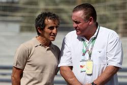 Alain Prost, 1985, 1986, 1989 y 1994 campeón mundial de F1, Alan Jones, campeón mundial de F1 de 198