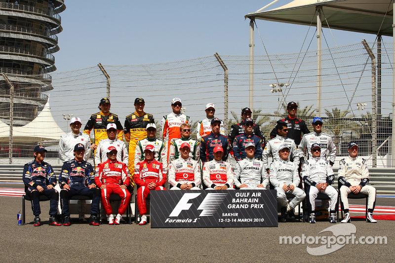 Clase 2010 Fórmula 1