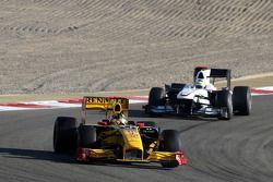 Robert Kubica, Renault F1 Team, Pedro de la Rosa, BMW Sauber F1 Team
