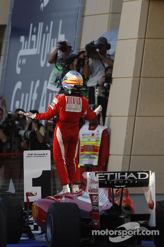 Переможець гонки Фернандо Алонсо, Ferrari