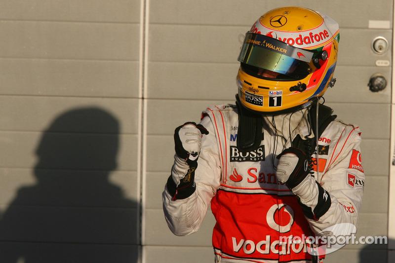 Lewis Hamilton acabaría el mundial 4º, con 240 puntos