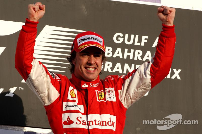 #4 Fernando Alonso (11 victorias en la década)