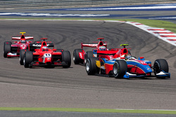 Davide Valsecchi leads Luca Filippi, Charles Pic and Alexander Rossi
