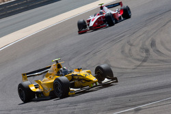 Giacomo Ricci leads Sam Bird