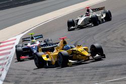 Michael Herck leads Luiz Razia and Max Chilton