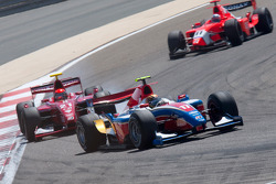 Davide Valsecchi leads Alexander Rossi and Charles Pic