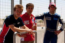 Davide Valsecchi, Luca Filippi et Giacomo Ricci