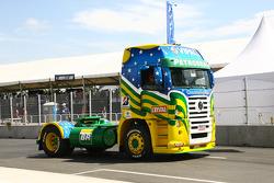 A race truck