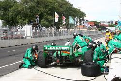 Passage aux stands pour Tony Kanaan, Andretti Autosport