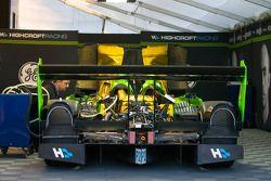 Patron Highcroft Racing paddock