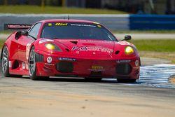#62 Risi Competizione Ferrari F430 GT: Jaime Melo, Gianmaria Bruni, Pierre Kaffer