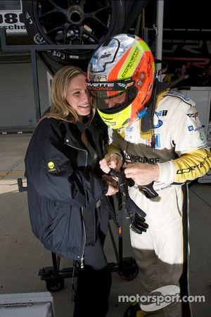 Olivier Beretta met vriendin