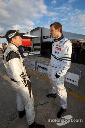 Klaus Graf en Alexander Wurz
