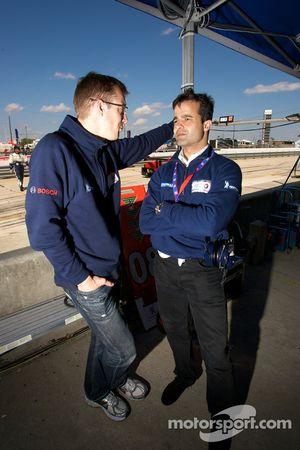 Sébastien Bourdais en Pedro Lamy