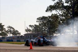 Spin voor #007 Aston Martin Racing Lola B09 60 Aston Martin: Stefan Mücke, Harold Primat, Adrian Fer