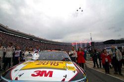 Jeff Gordon, Hendrick Motorsports Chevrolet en Nicole Biffle